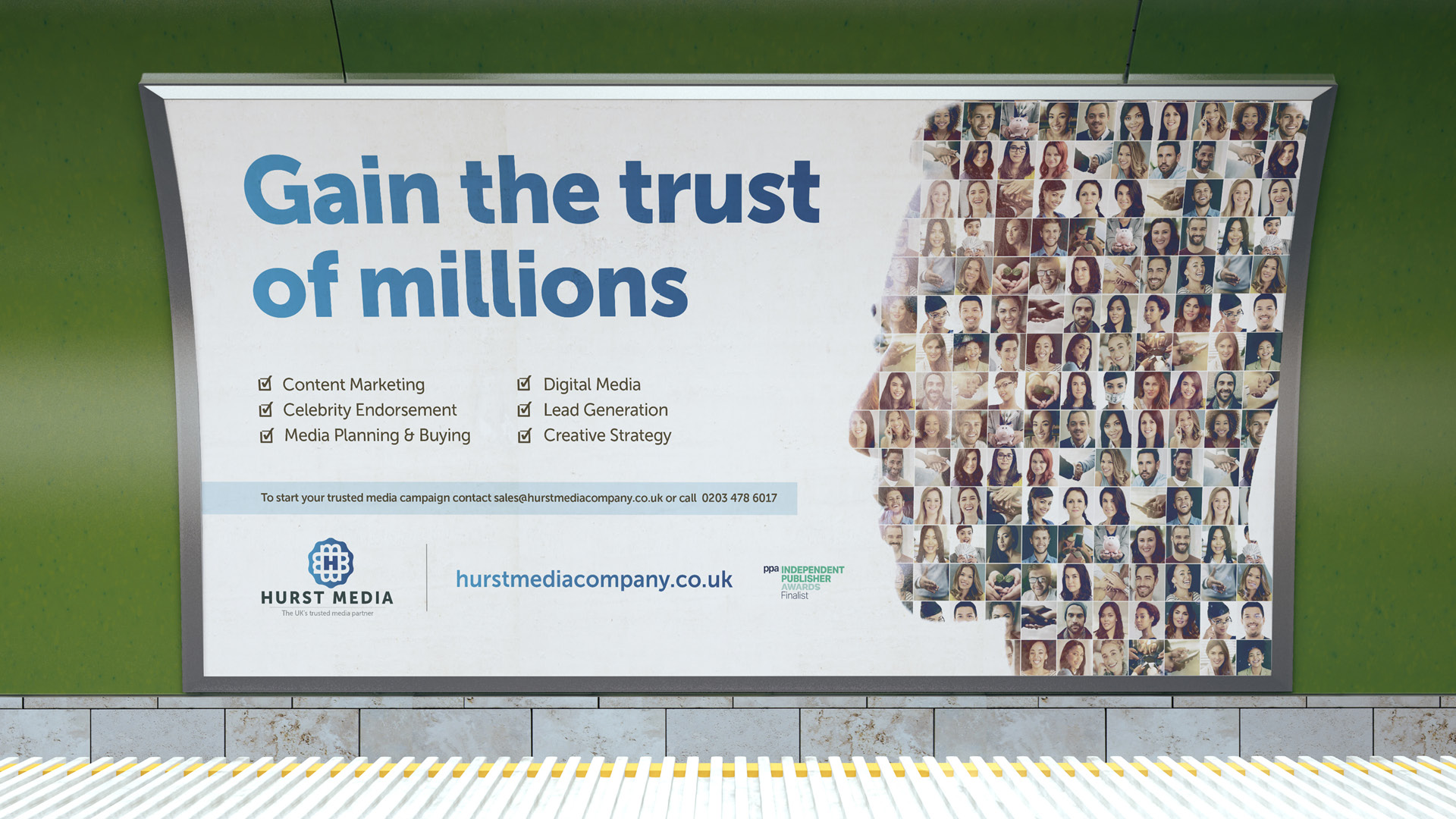 First Outdoor Advertising Campaign Promotes Trusted Media