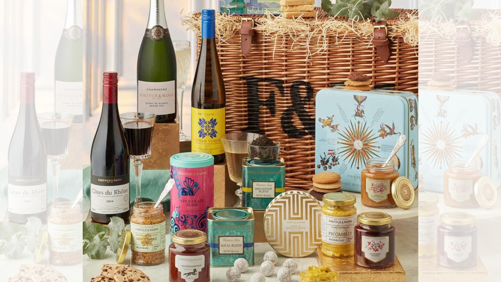 SHARE YOUR VIEW AND WIN A FORTNUM AND MASON FOOD HAMPER