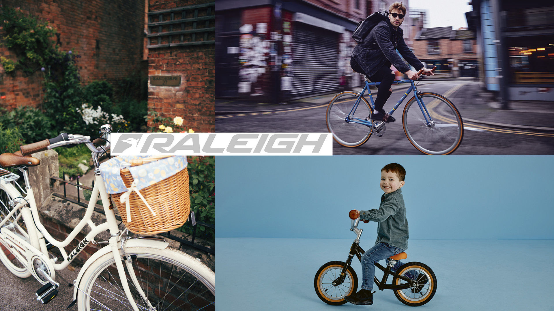 New Raleigh bikes for your family