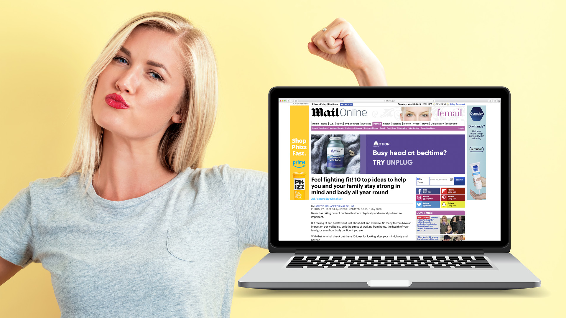 Latest MailOnline feature will inspire you to feel fighting fit