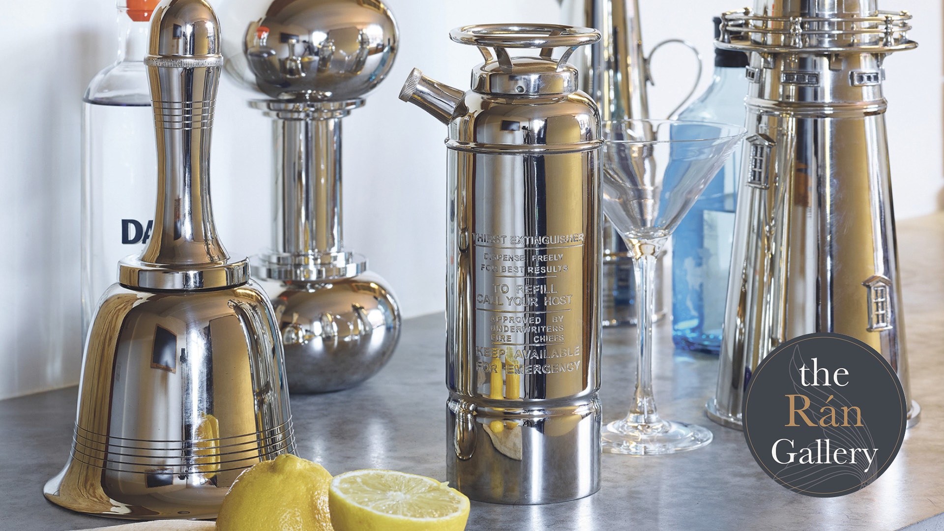 Win a 1920s vintage style cocktail shaker Worth up to £227!