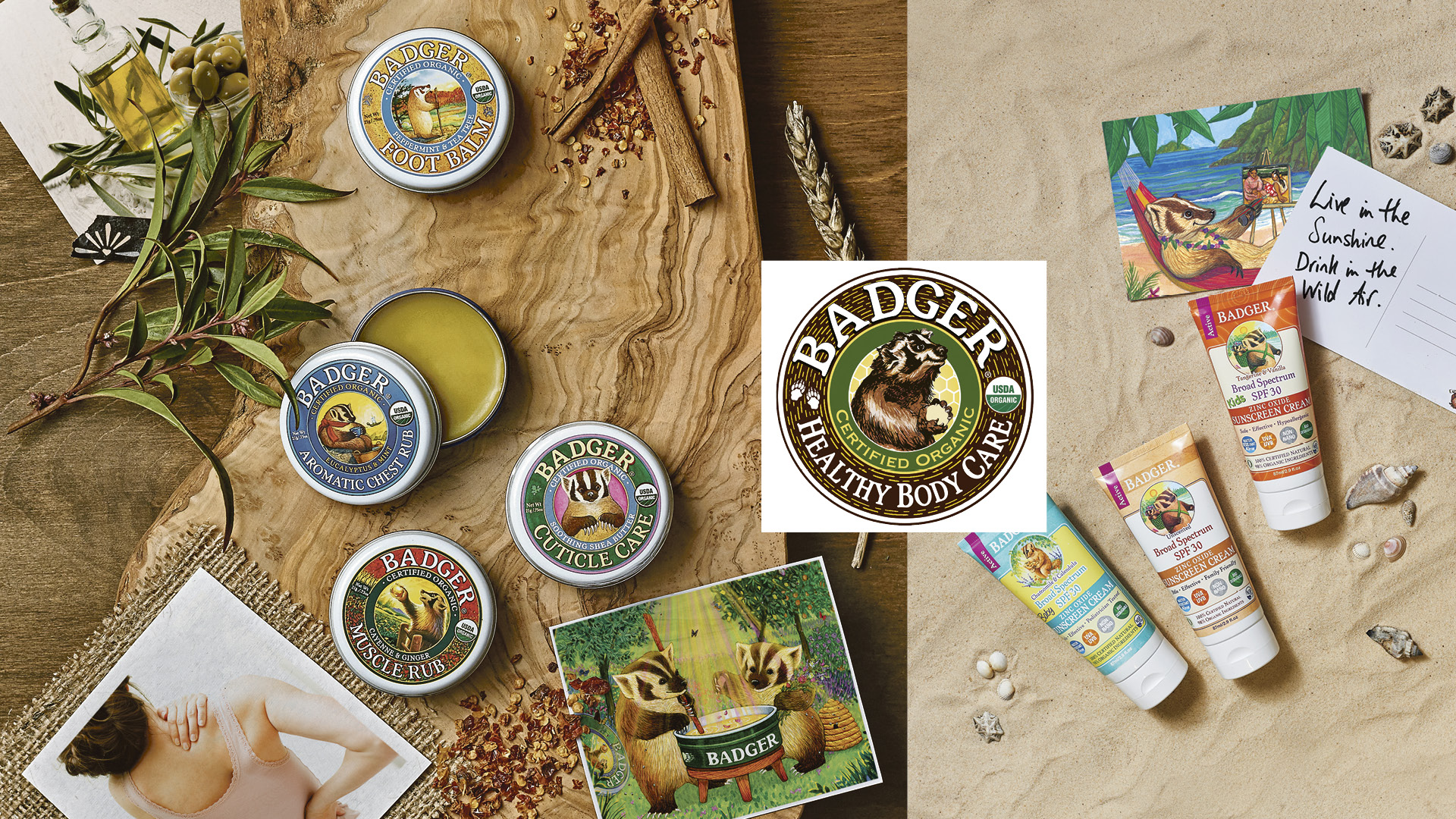 Win a bundle of Badger balms and sun care worth £200!