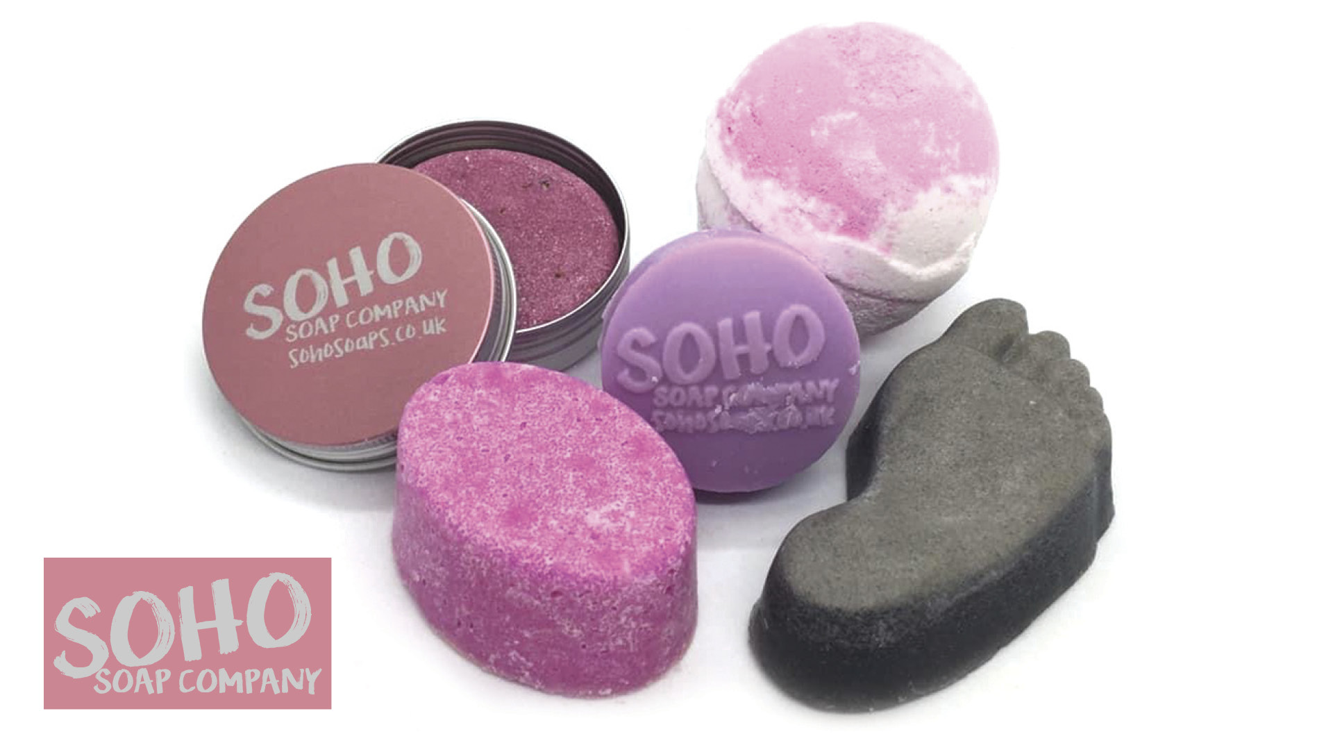 Win one of two Soho Soaps gift box sets Worth £100 each!