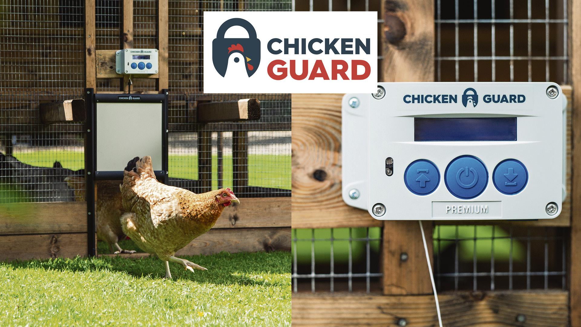 Win a ChickenGuard© Locking Combi  Premium Kit Worth £165.99!