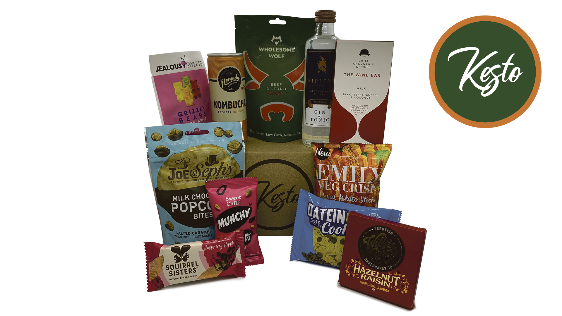 Win you and a friend a year's supply of Kesto food subscription boxes Worth £540!