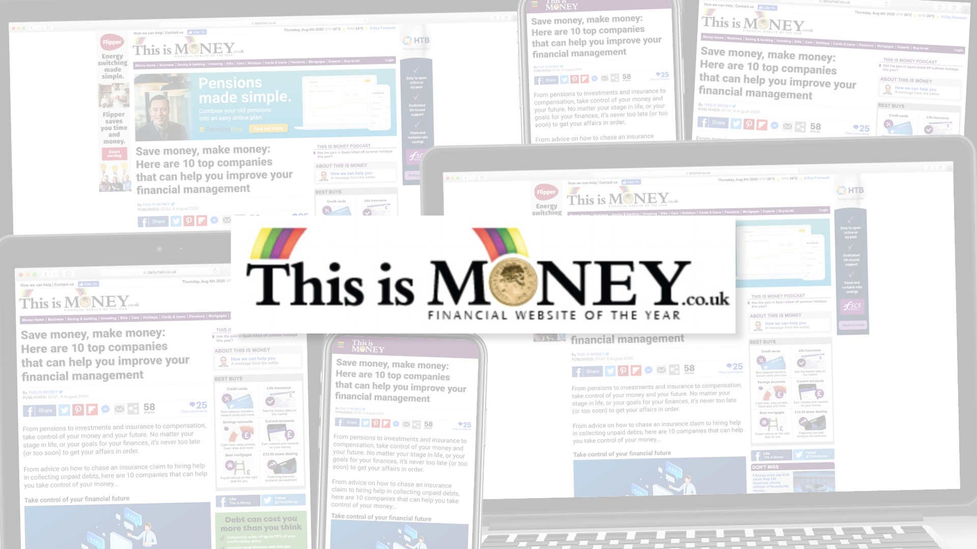 NEW THIS IS MONEY PARTNERSHIP TO BOOST FINANCE BRANDS