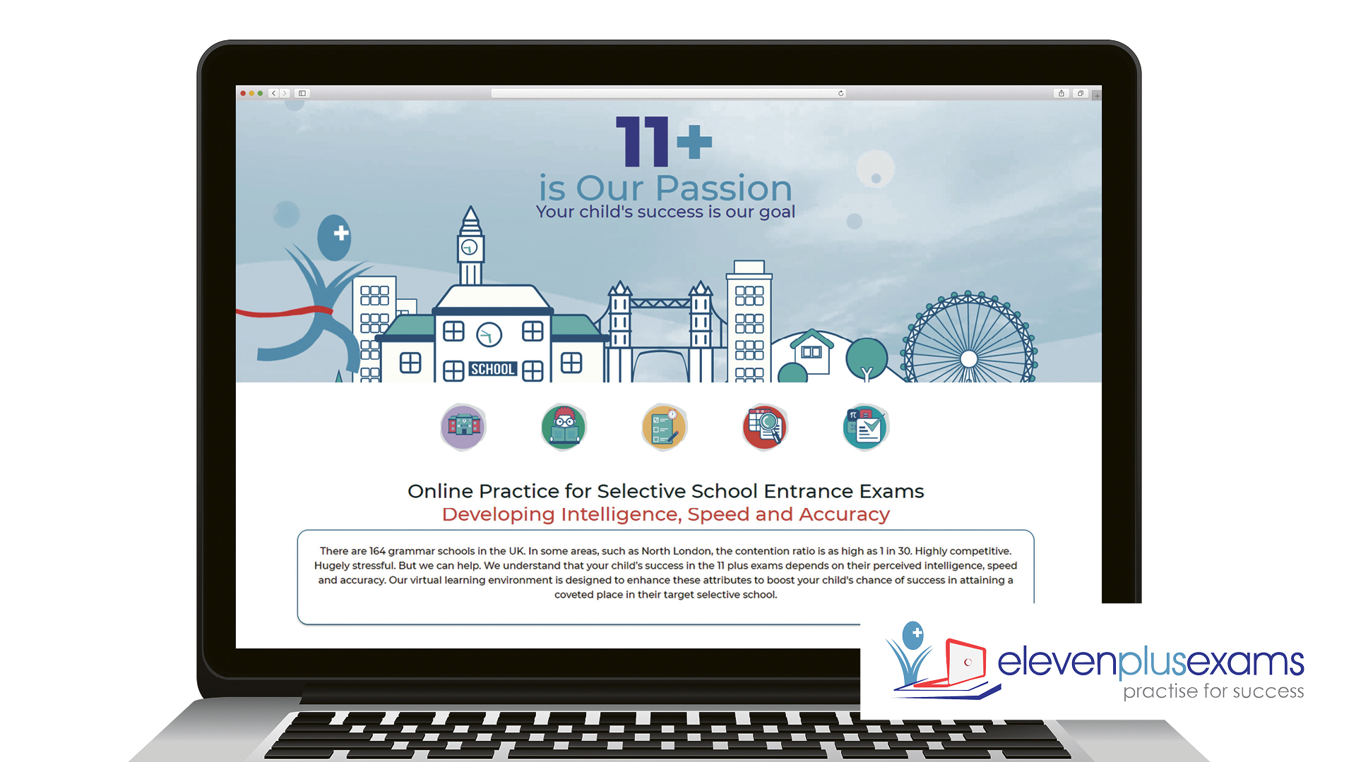 Win access to an essential study tool designed to help pupils pass the 11+ exam Worth over £600!