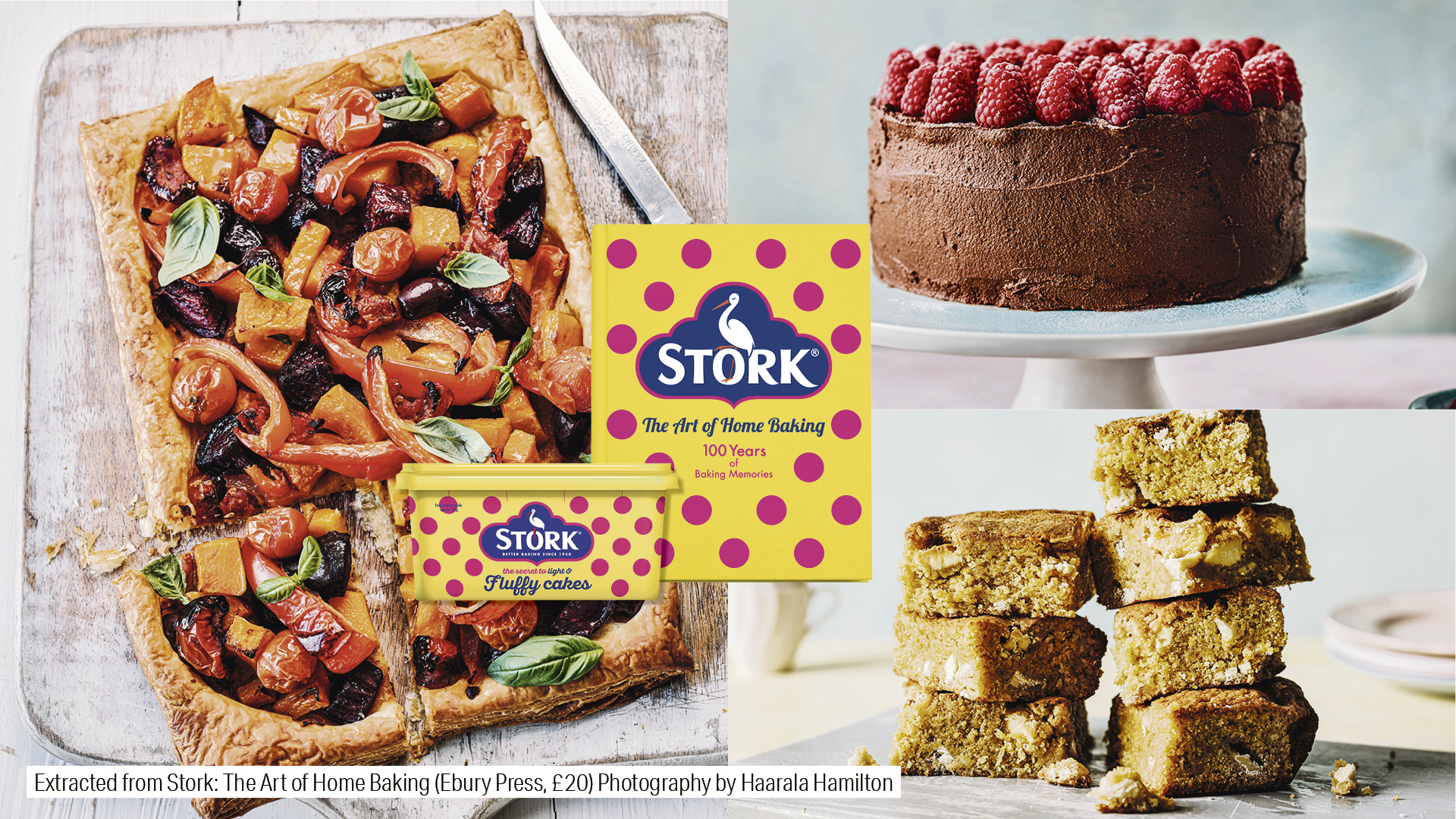 WIN! The Art of Home Baking recipe book by Stork, the nation's baking margarine