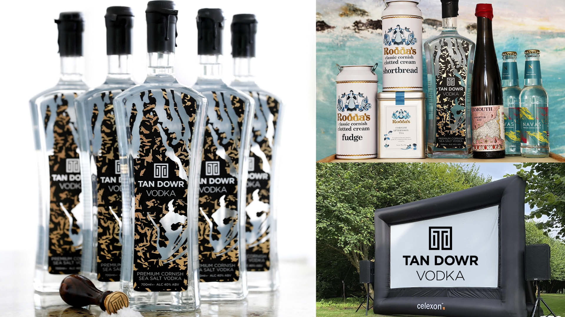 Win a Private Outdoor Cinema Screening and a Tan Dowr Cornish Vodka Cocktail Hamper worth over £1000