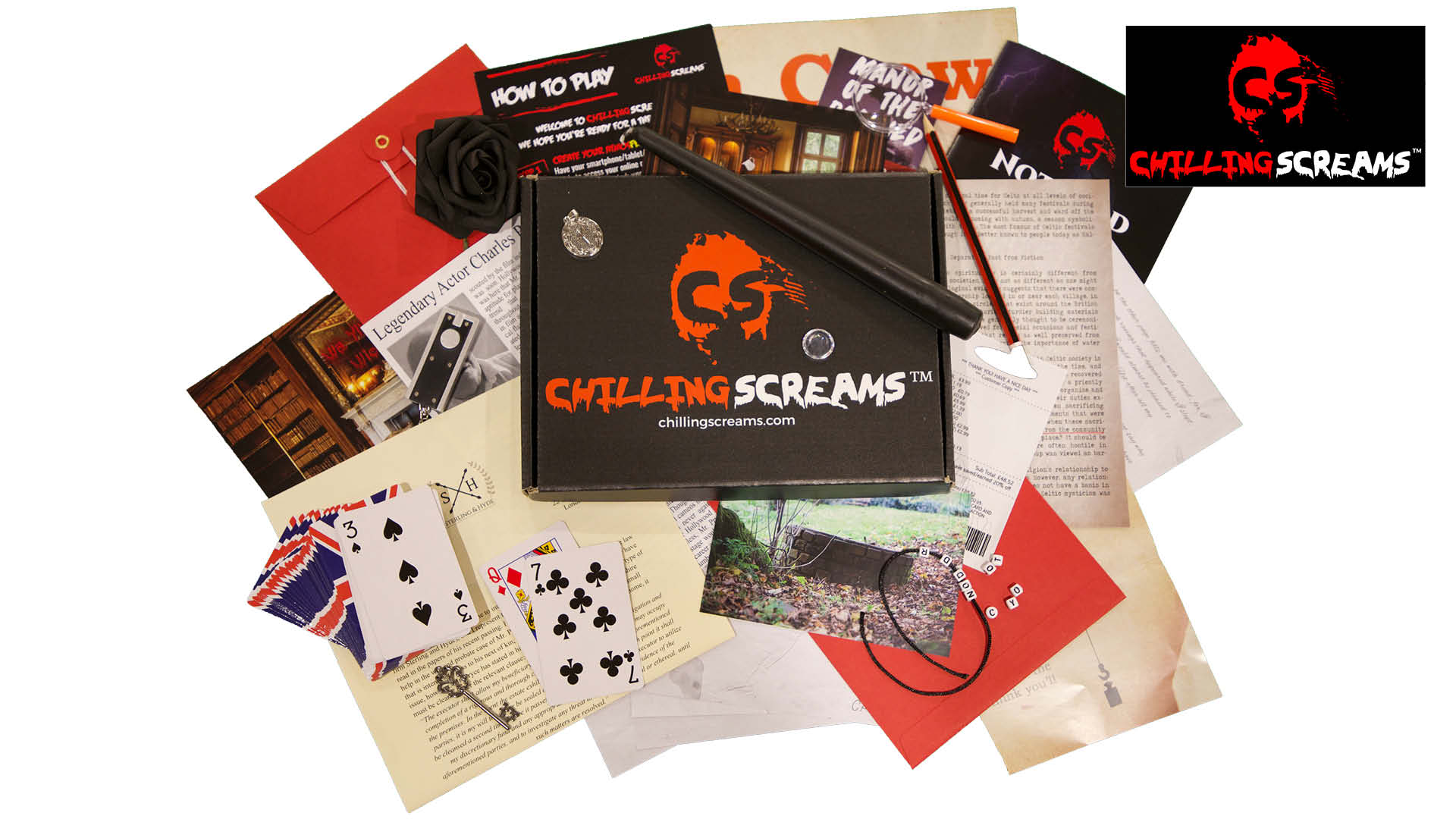 WIN a six-month subscription to Chilling Screams adventure games Worth £176.65!