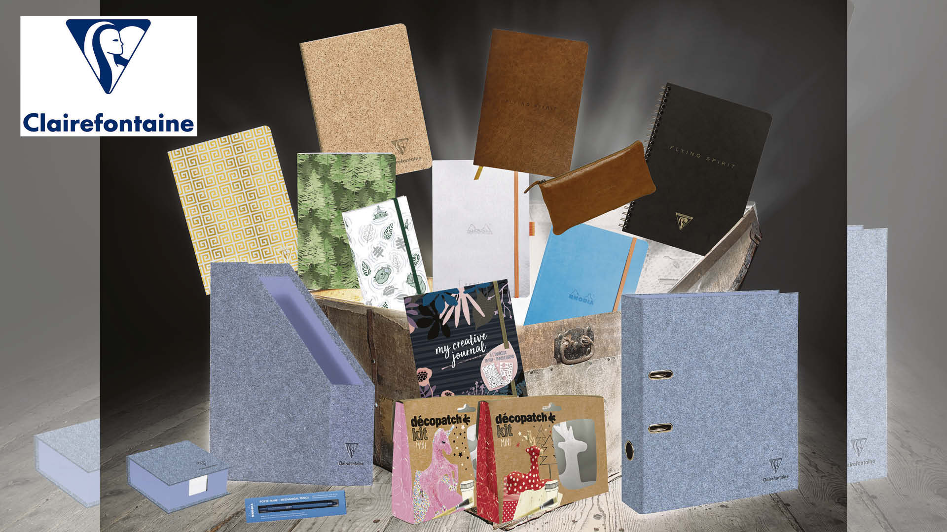 Win one of three stationery and crafting bundles Each worth £300!