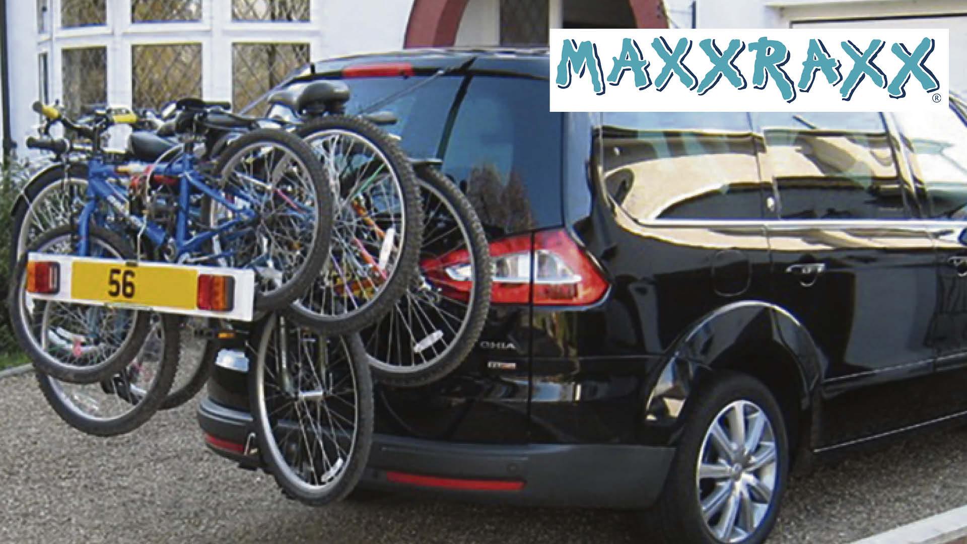 Win a MAXXRAXX cycle tow bar plus a kit bag and wall bracket Worth £309.95!