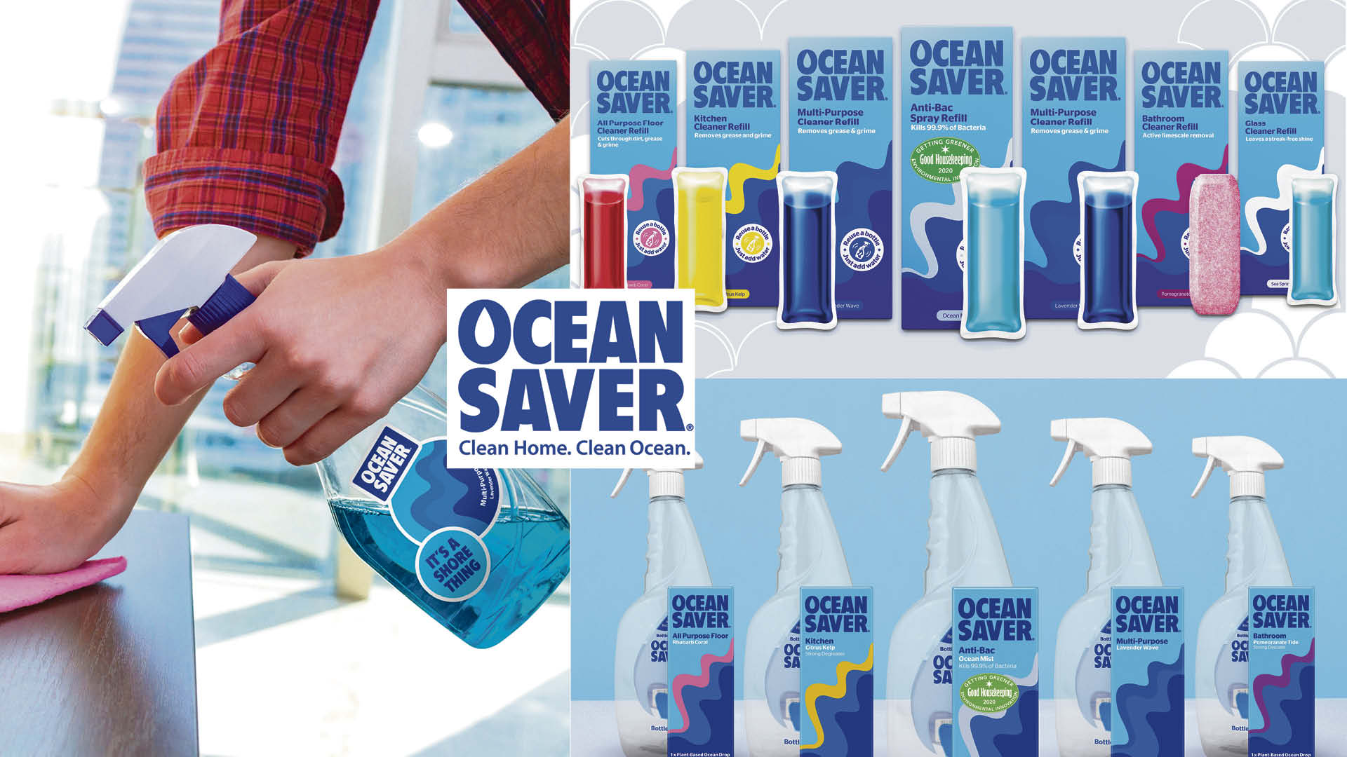 Win a year's supply of eco-friendly cleaning products Worth £133!