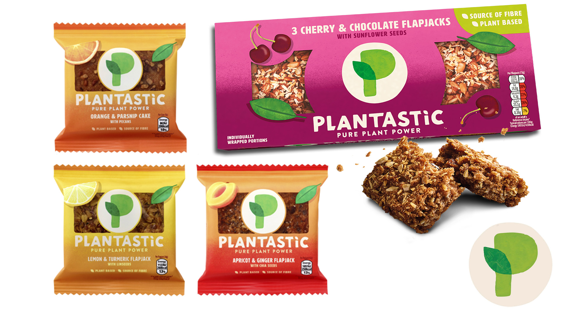 WIN one of five £100 Tesco vouchers, PLUS Plantastic Flapjacks for 100 runners up