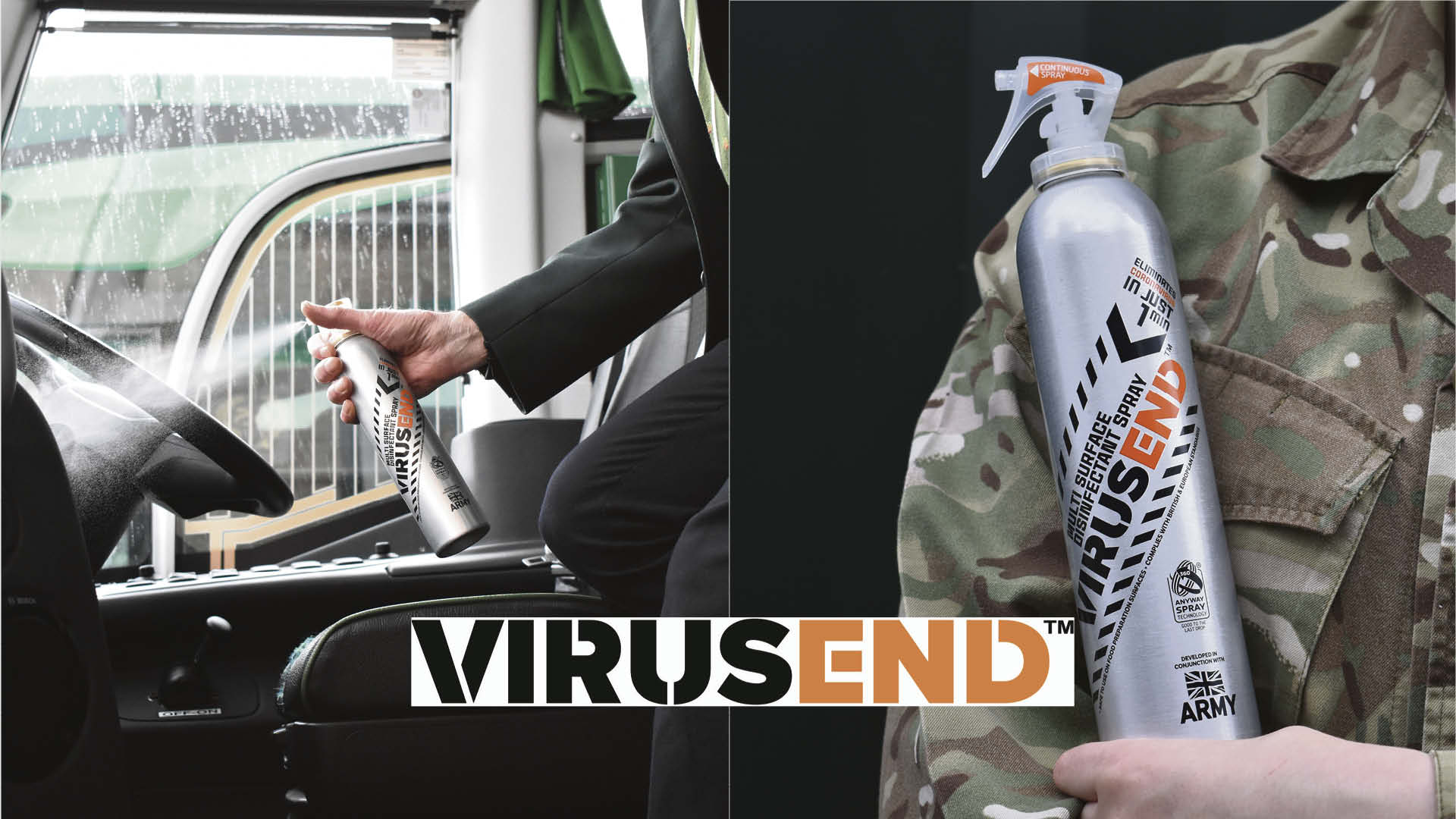 Win a year's supply of VIRUSEND™ for your business Worth up to £500!