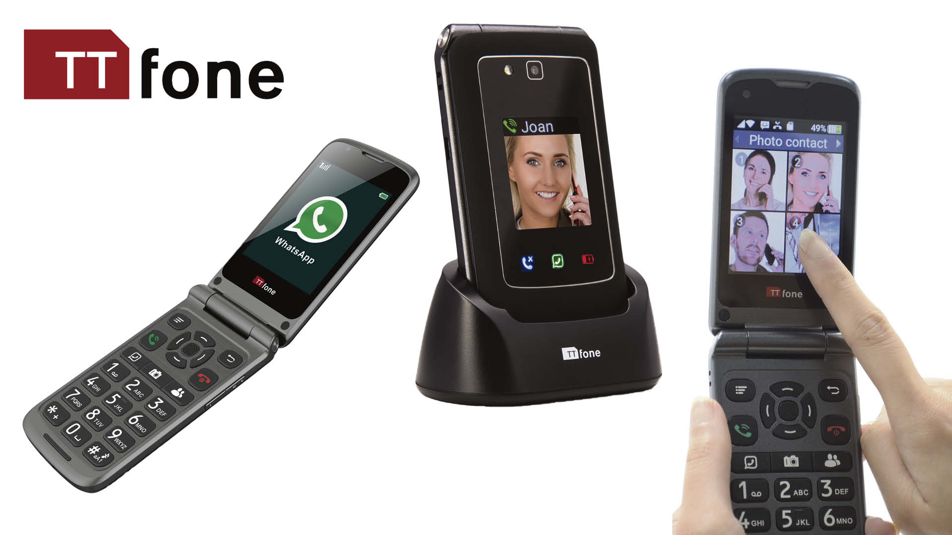 Win an easy-to-use TTfone TT950 mobile phone Worth £99.99!