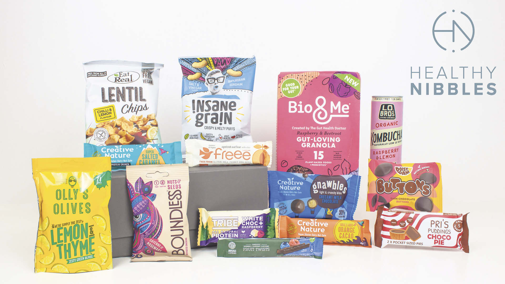 plant-based snacks delivered to your door