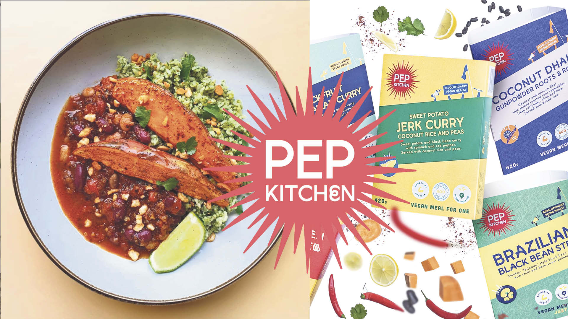 Voucher to spend on chef-made PEP Kitchen meals