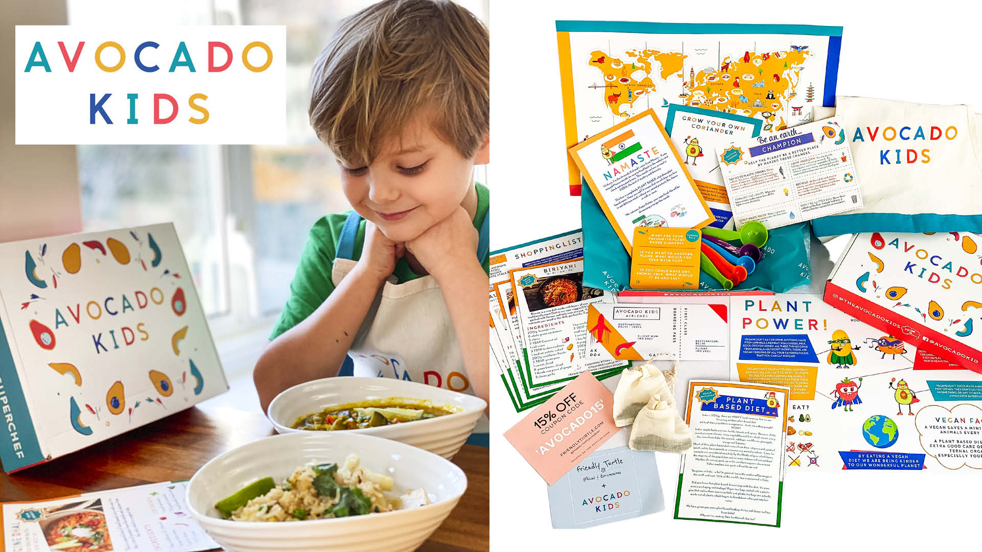 six-month creative cooking subscription for kids