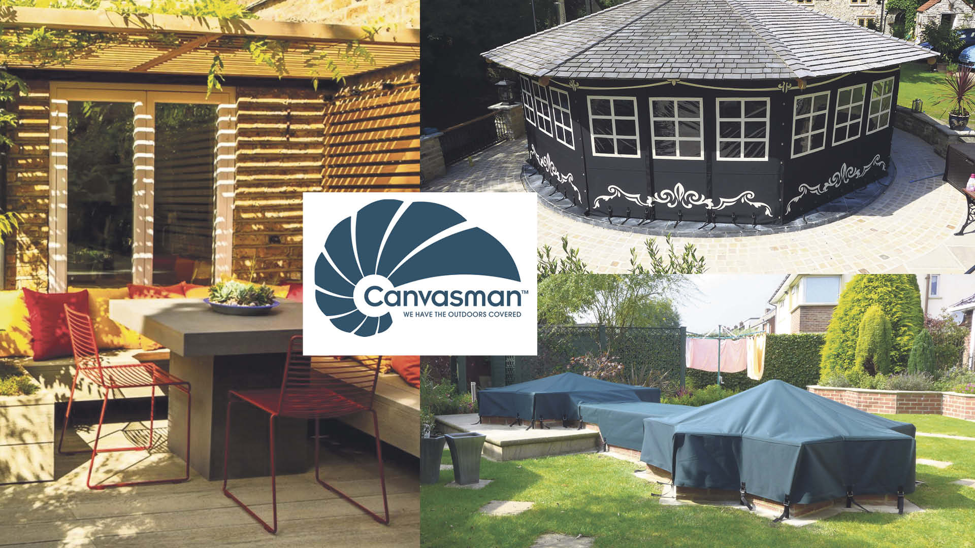 custom-made side panels, outdoor cushions or furniture covers
