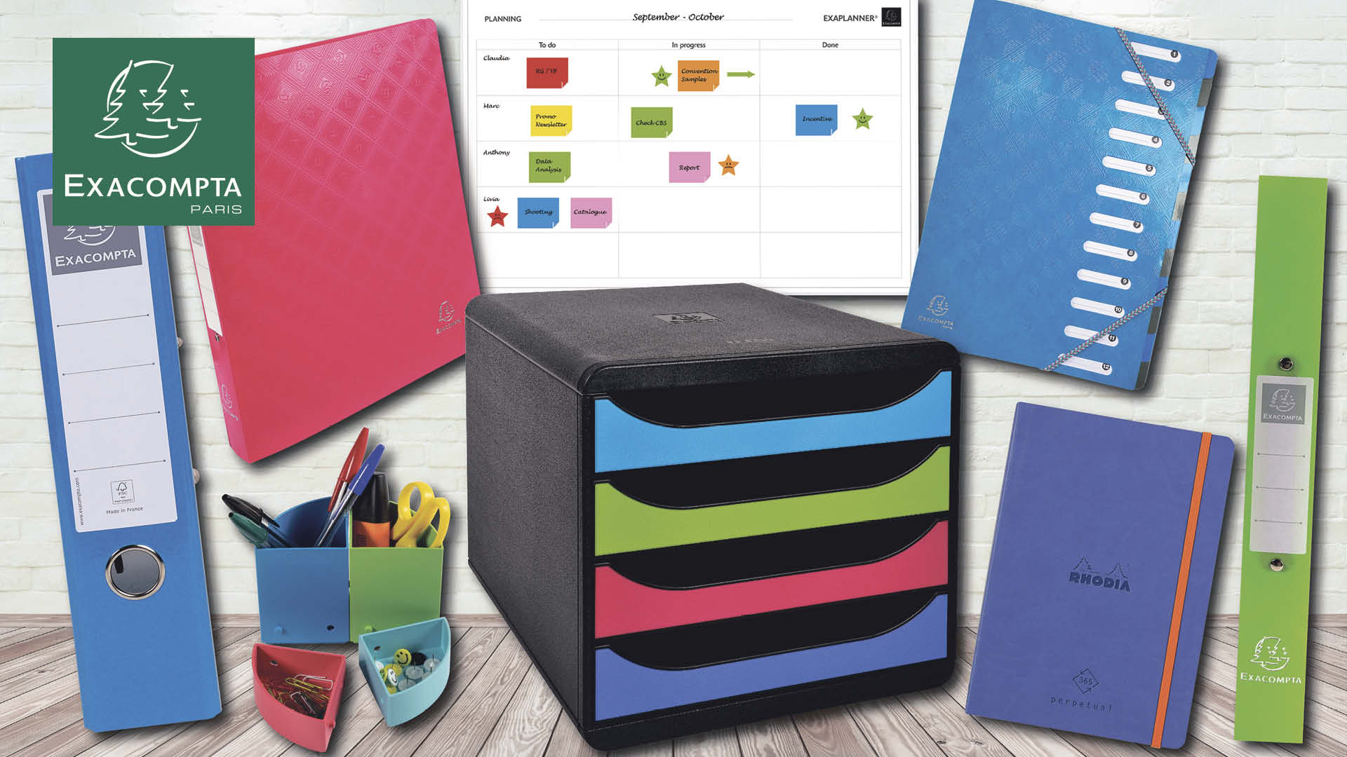 Home office stationery bundle