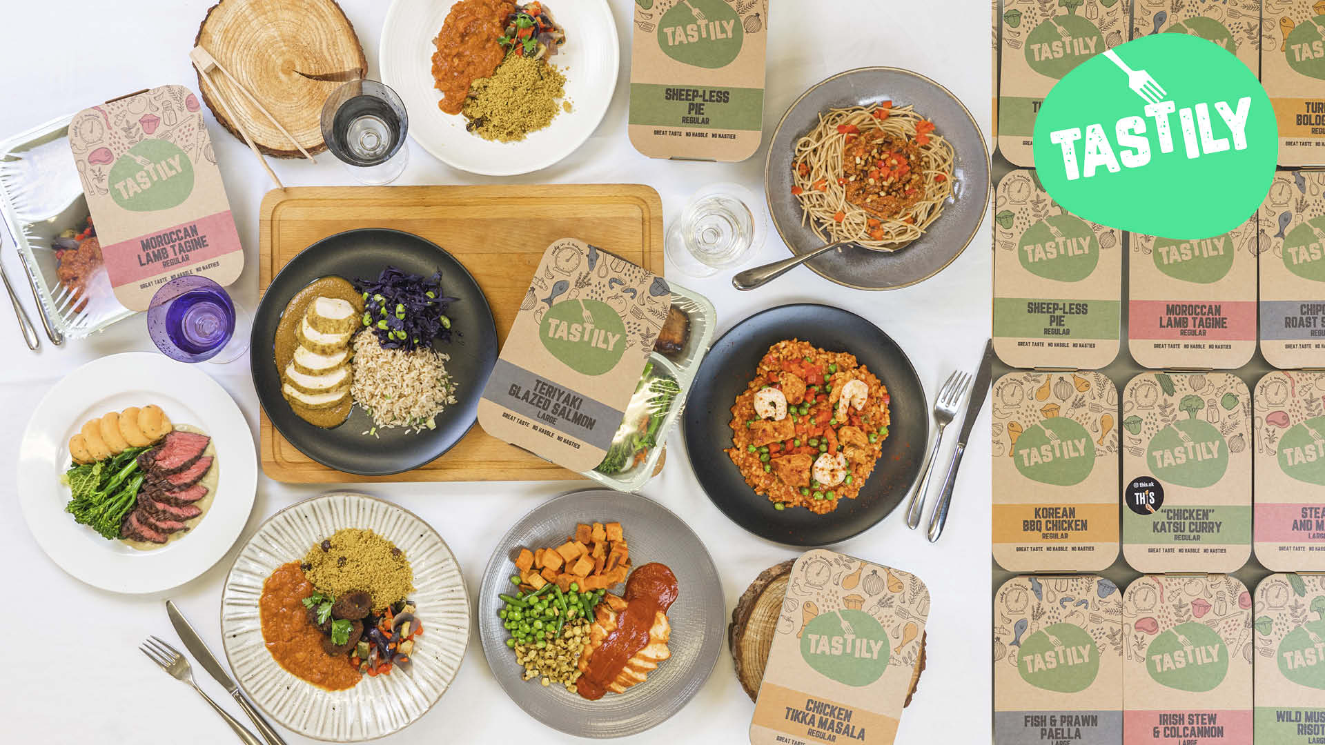 fresh meals from Tastily each week for a month