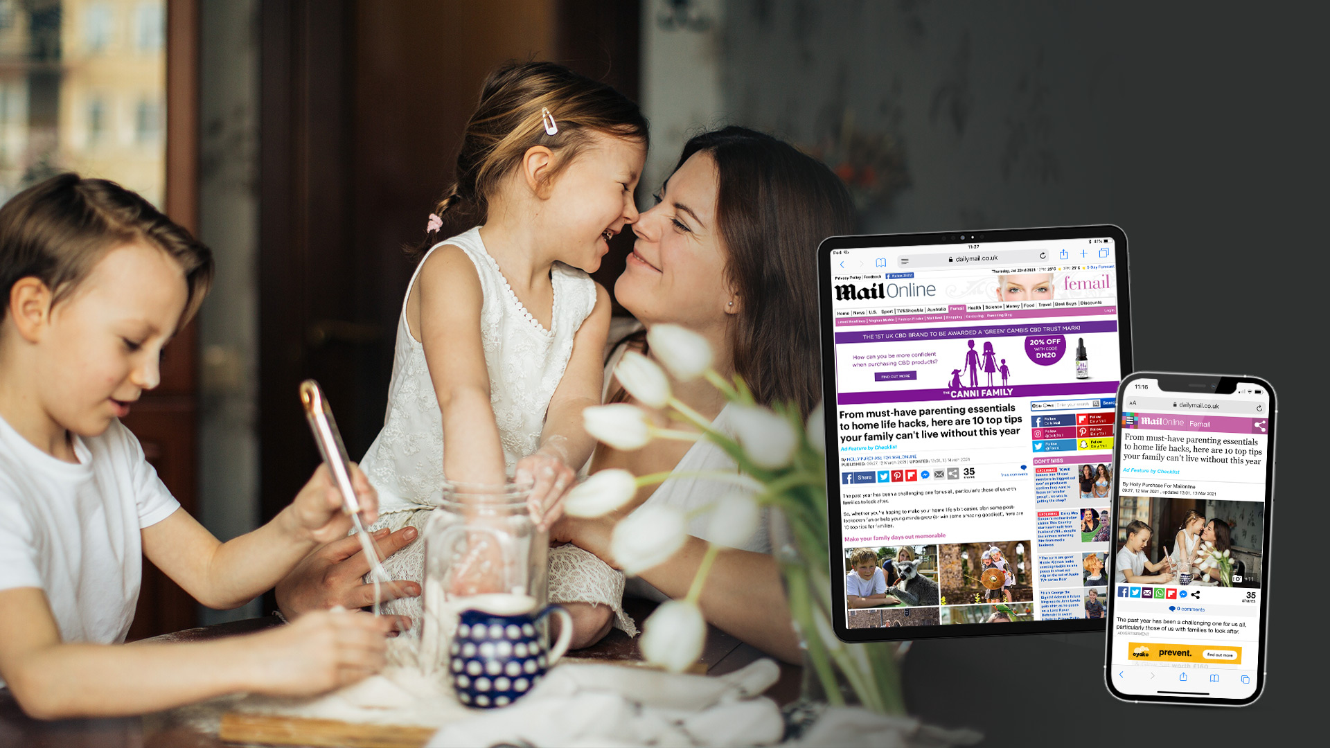 Family Inspiration In MailOnline