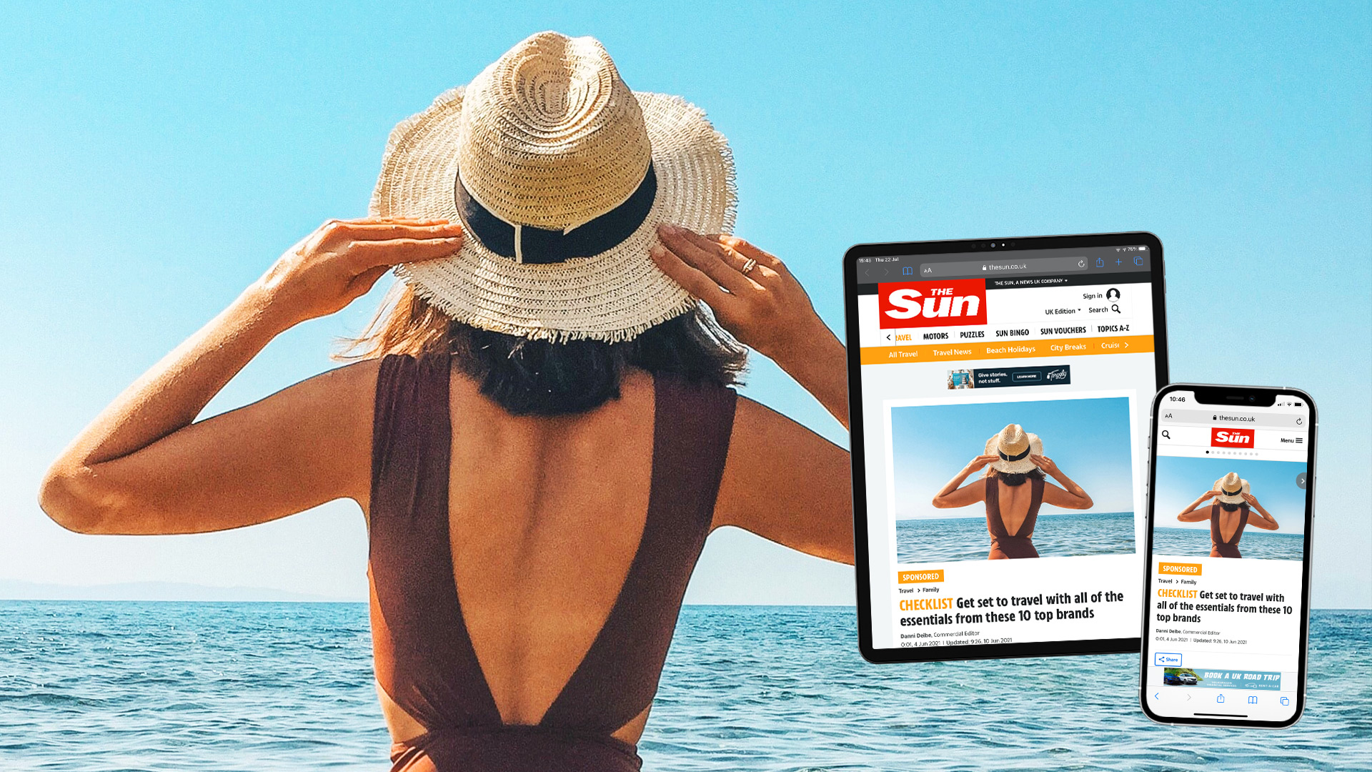 TRAVEL INSPIRATION IN THE SUN ONLINE
