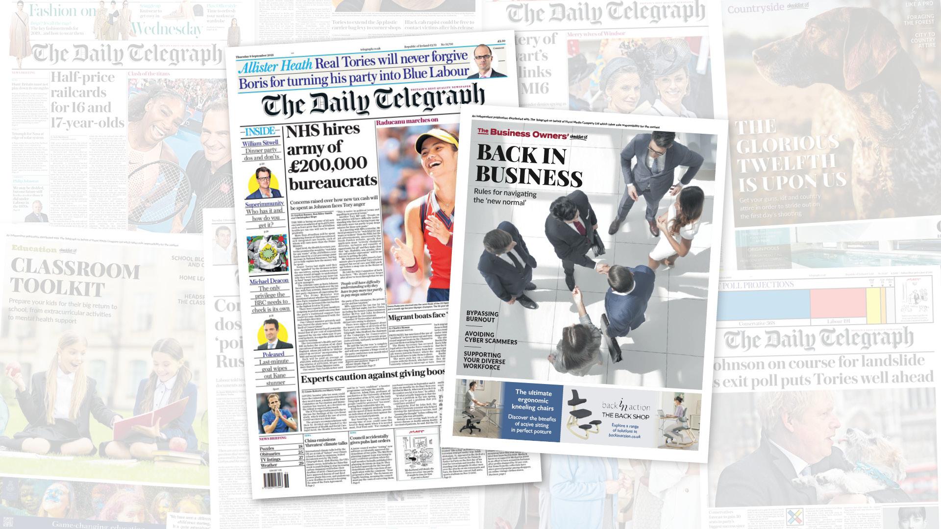 Telegraph Supplements